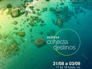 Sebrae Conecta Destinos aborda tendências e práticas do turismo em live gratuita