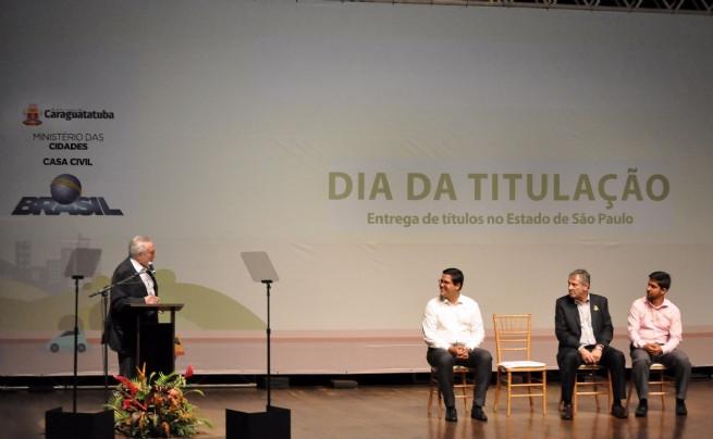 Michel Temer em visita à Caraguatatuba - Foto: Depcom/PMSS