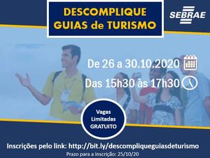 Programa Descomplique do Sebrae/SP traz cursos online gratuitos para guias turísticos de Caraguatatu