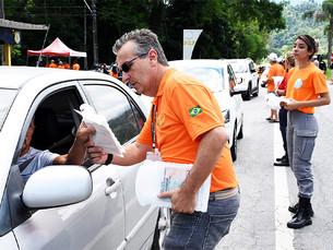 Motoristas de Angra dos Reis recebem orientações para prevenção de acidentes