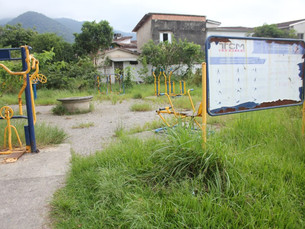 Parquinhos e academias públicas de Ubatuba sofrem por falta de manutenção
