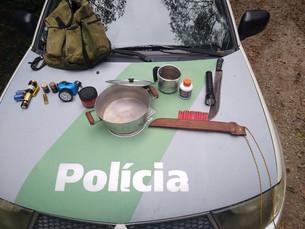Homem é preso por caça ilegal em área de preservação ambiental em Caraguatatuba