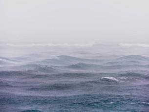 Marinha alerta para vento de mais de 60 km/h no litoral norte de SP
