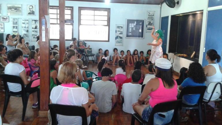 Contação de histórias - Foto: Divulgação/PMU