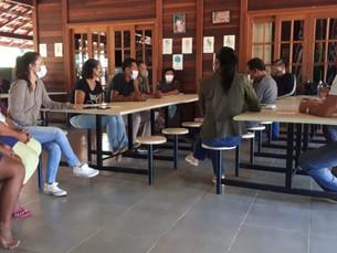 Assistência Social de Ubatuba se reúne com lideranças da Aldeia Renascer