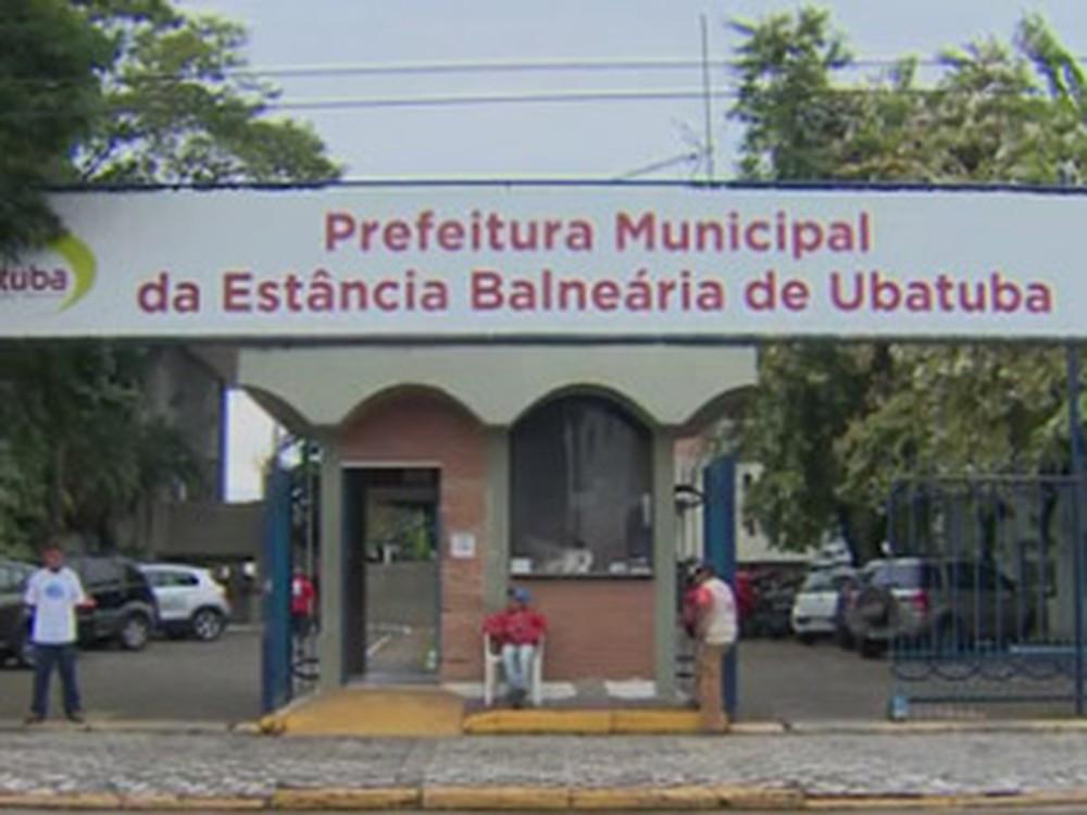 Prefeitura de Ubatuba (Foto: Reprodução/ TV Vanguarda)