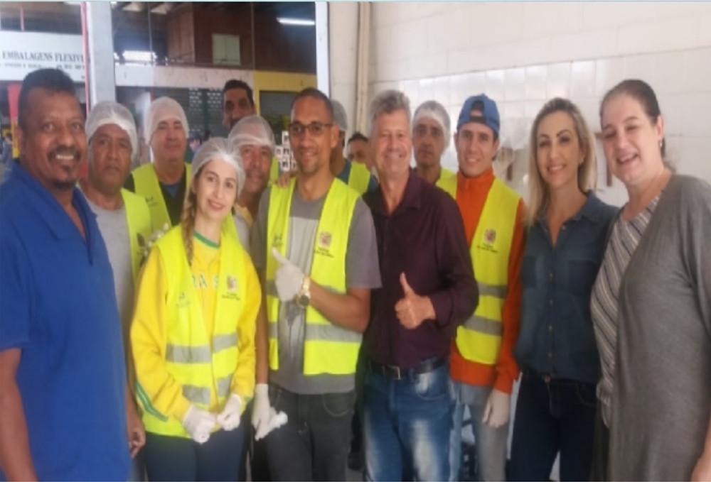 Visita ao Ceagesp - Foto: Divulgação/PMSS