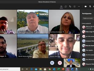 Concessionária Tamoios realiza reunião com Câmara de Vereadores de Caraguatatuba
