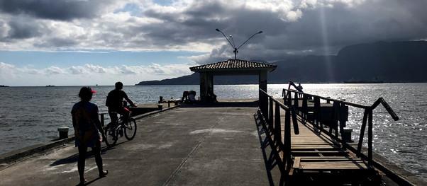 Prefeitura de Ilhabela inicia reforma do píer do Perequê