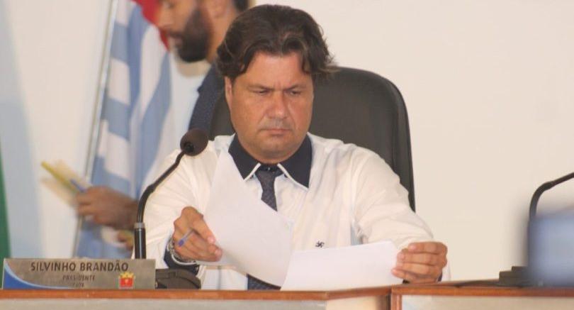 Vereador Silvinho Brandão - Foto: Tamoio News