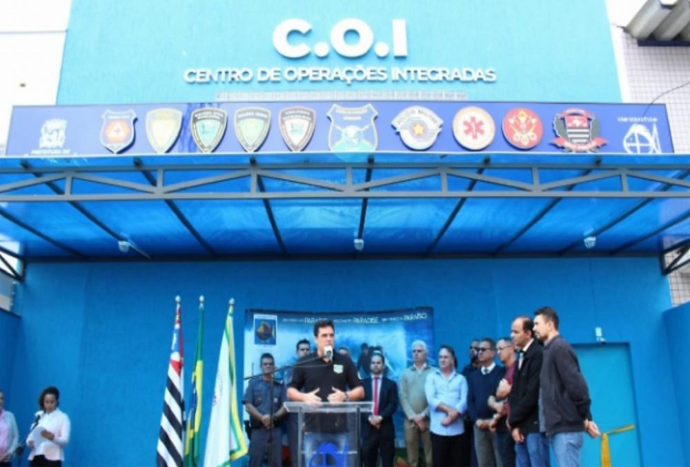 Cerimônia de inauguração - Foto: André Santos/PMSS