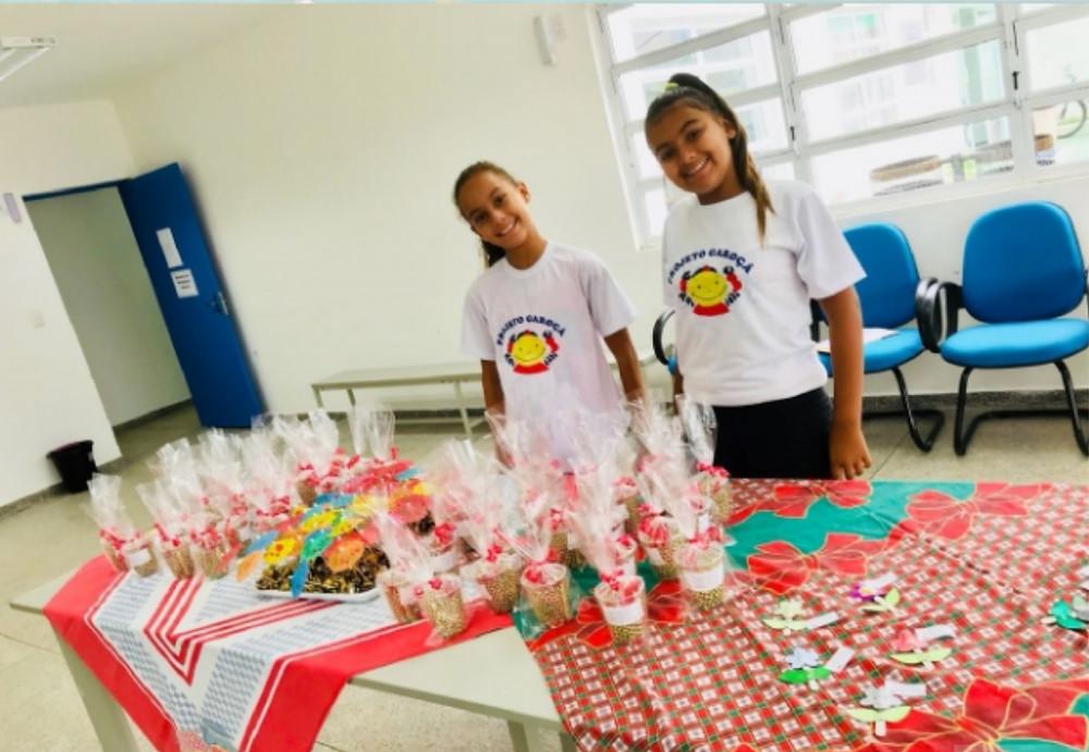 Crianças do Projeto Garoça - Foto: Divulgação/PMSS