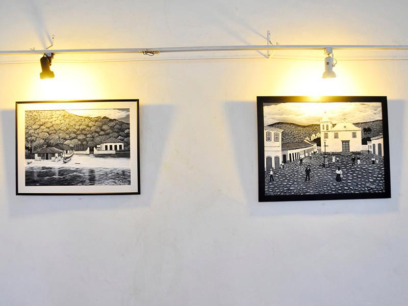 Exposição Angra Antiga de Elô Graciano -  Foto: Divulgação/PMAngra