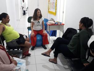 Oficina de Parto oferece informações e cuidados para gestantes de Ilhabela