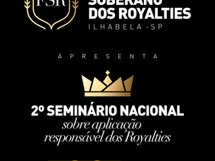Ilhabela será sede do 2º Seminário Nacional sobre Aplicação Responsável dos Royalties