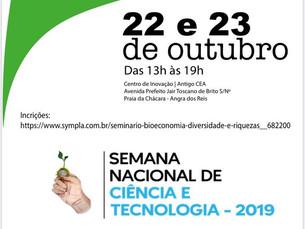 Seminário marca a Semana Nacional de Ciência e Tecnologia em Angra dos Reis