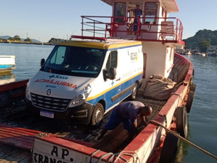 SPA da Vila do Abraão recebe nova ambulância, em Ilha Grande