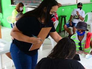 Caraguatatuba cadastra mais de 100 moradores do Morro do Chocolate para regularização fundiária