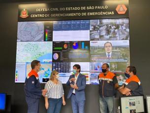 Defesa Civil de Ubatuba visita Casa Militar em São Paulo