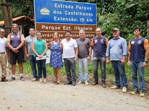 Estrada de Castelhanos, em Ilhabela,  ficará ainda mais segura com novas obras