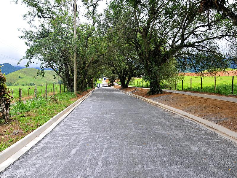 Cemitério da Serra D'Água, em Angra dos Reis, ganha novo acesso - Foto: Divulgação/PMAngra