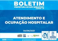 Boletim de Atendimento e Ocupação Hospitalar em São Sebastião