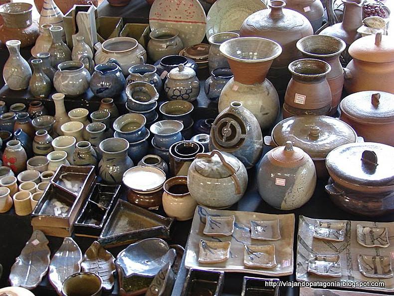 Trabalhos de ceramistas de Cunha - Foto: Divulgação