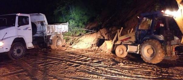 Chuva causa novos danos em Ubatuba e mais pessoas ficam desabrigadas.