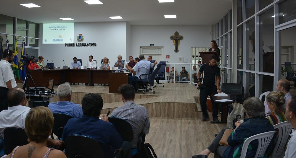 Audiência pública sobre o Fundo Soberano Municipal de Royalties - Foto: Divulgação