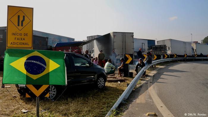 Respostas da população á greve de caminhoneiros foram ambíguas