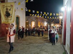 Tradicional Festa de Santa Rita de Cássia segue até domingo em Paraty