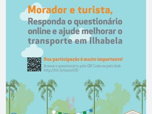 Prefeitura de Ilhabela cria questionário online sobre a mobilidade urbana na cidade