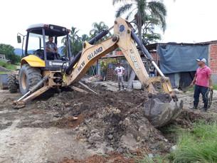 Prefeitura de Caraguá realiza duas grandes obras no Pegorelli e Rio Marinas
