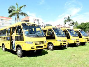 Angra dos Reis compra nove ônibus para transporte escolar