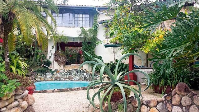 Casa do Clodovil em Ubatuba
