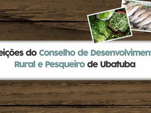 Inscrições para o Conselho de Desenvolvimento Rural e Pesqueiro de Ubatuba terão início em 28/08