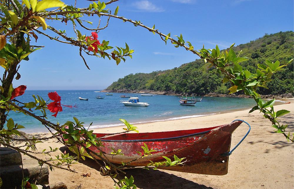 Comunidade caiçara em Ilhabela - Foto: Divulgação/PMI