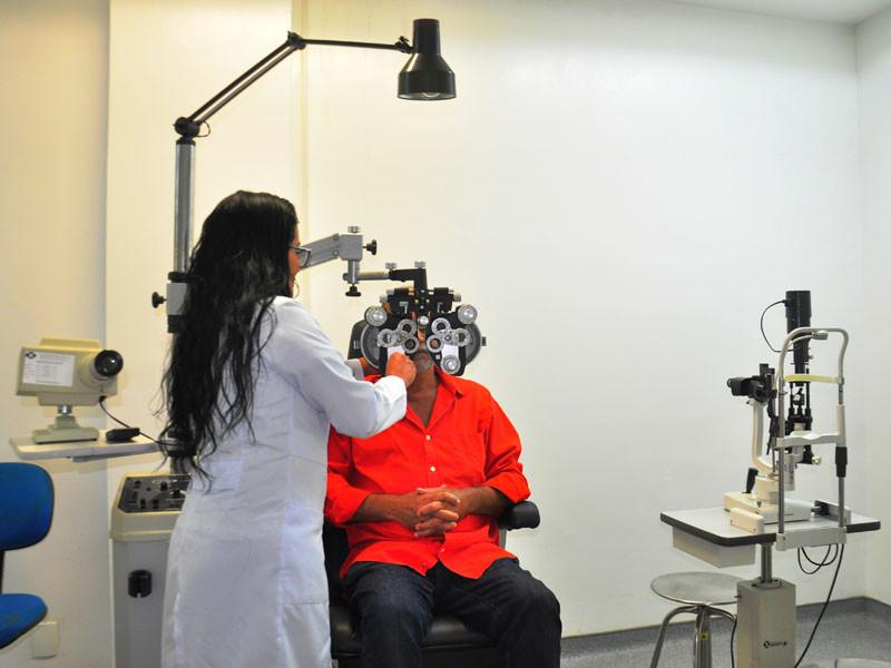Centro Oftalmológico Saúde no Olhar - Foto: Divulgação/PMAngra
