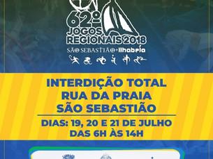 Rua da Praia, em São Sebastião, será interditada para prova de ciclismo