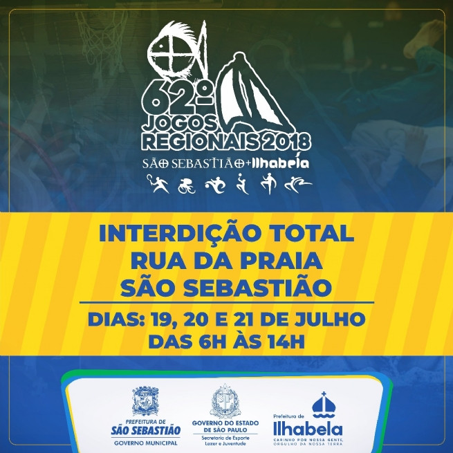 A interdição será feitas nos dias 19, 20 e 21 de julho (quinta, sexta e sábado), no horário das 06h às 14hs. - Foto: Divulgação