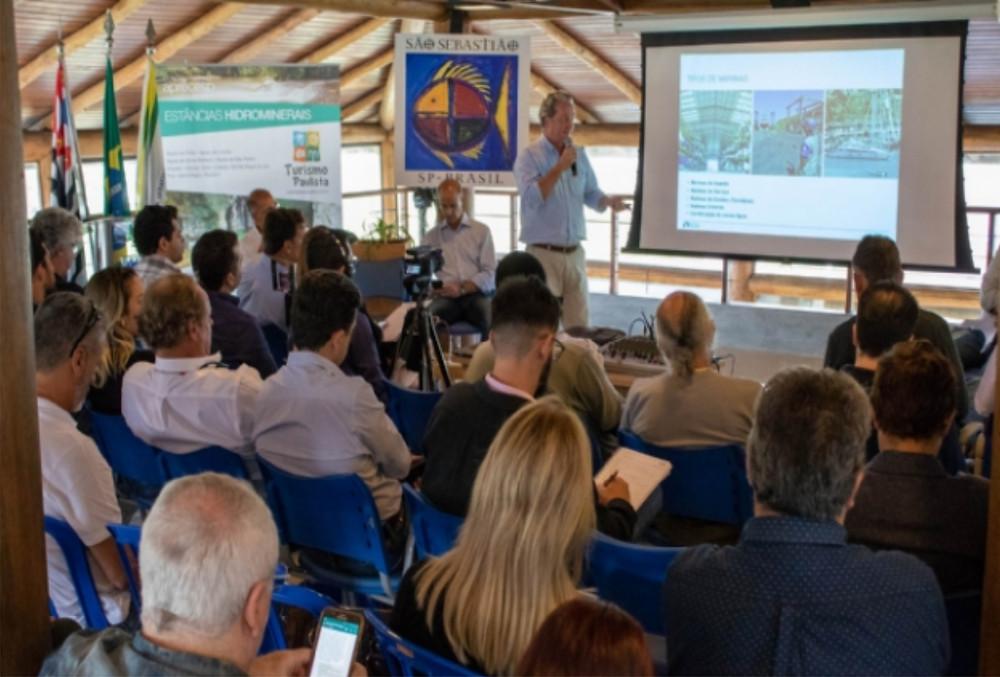 O evento reuniu representantes de várias cidades do Estado e de especialistas do setor náutico. - Foto: Luciano Vieira/PMSS