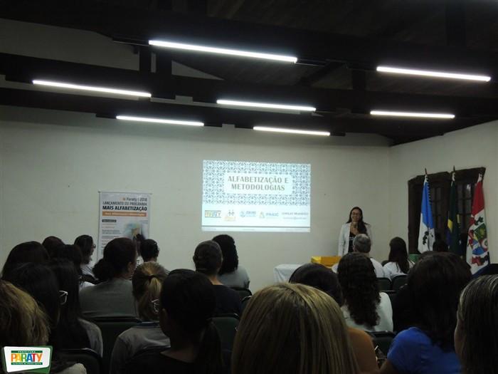 Lançamento do programa Mais Alfabetização - Foto: Divulgação/PMP
