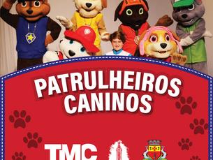 Patrulheiros Caninos são atração neste domingo, 20, no Teatro Mario Covas