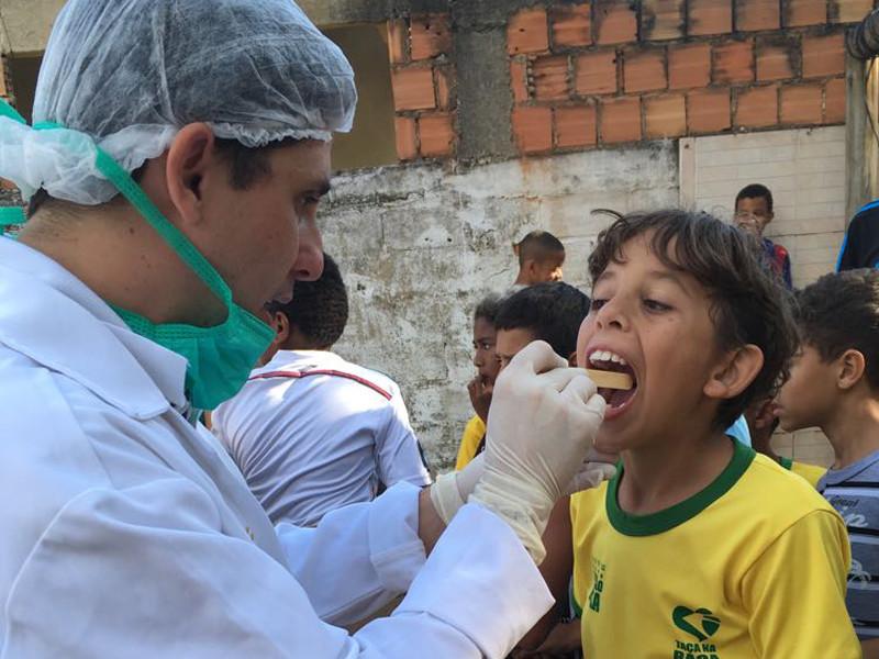 25 crianças e adolescentes do Cras do Belém participaram da ação - Foto: Divulgação/PMAngra