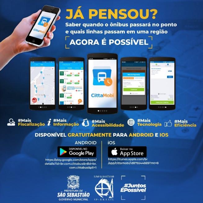 Anúncio do aplicativo