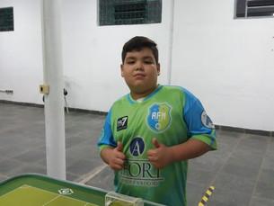 Sebastianense de 9 anos é o atleta mais novo dos Jogos Regionais 2019