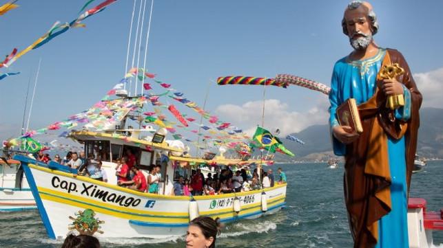 Tradicional Procissão Marítima de São Pedro Pescador será realizada neste domingo em São Sebastião