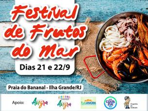 Ilha Grande terá Festival de Frutos do Mar neste fim de semana