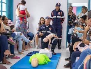 Prefeitura de São Sebastião oferece treinamento gratuito de primeiros socorros em parceria com o SAM