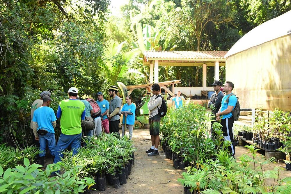 Trabalho em campo durante o curso - Foto: Divulgação/PMI